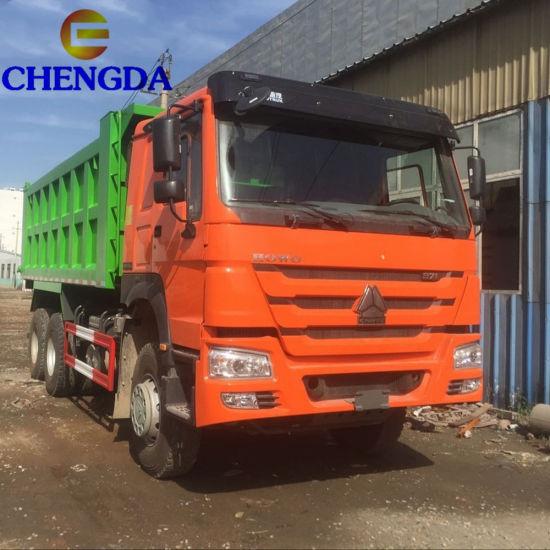 Rear Tipping Dump Truck HOWO Lorry Tipper Truck
