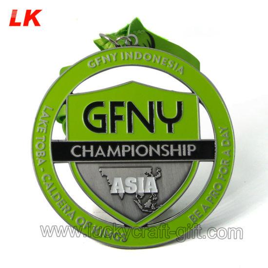 Custom Metal Medallions No Minimum Order