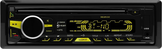 High Power One DIN Bluetooth Car DVD Player with USB SD FM MP3