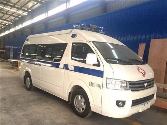 Good Quality Foton 4X2 4X4 Right Hand Drive 4WD Ambulance for Sale