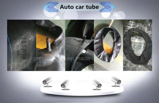 Auto Car Truck Agricultural OTR Industrial Motorcycle Tyretire Butyl Natural Rubber Inner Tube 185/195-15 10.00-20 12.00-20 2.75-17 2.75-18 14/16/18/20-2.125