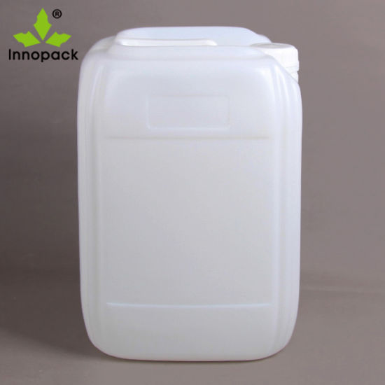 25 Liter Square Hpde Plastic Jerry Can for Chemical Use