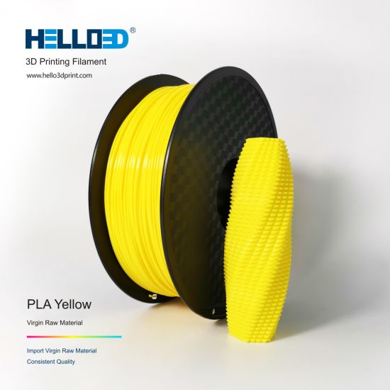 1.75mm PLA ABS Filament for 3D Printer Yellow Color