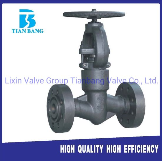 Forged Steel High Temperature Seal Pressure Flange Globe Valve pictures & photos