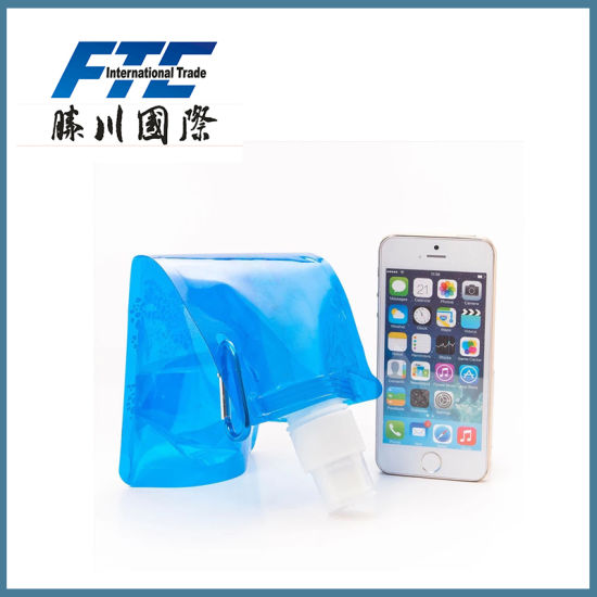 Customized Colourful PE Sport Foldable/Collapsible Water Bottle pictures & photos