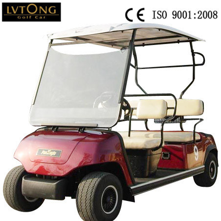 4-Person Battery Operated Car for Golf Course