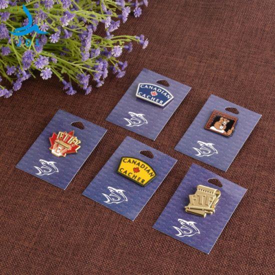 China Wholesale Factory Custom Logo Kpop Anime Zinc Alloy Bts Gold Brass Plastic Metal Craft Hard Hat Soft Enamel Badge School Brooch Safety Flag Tag Lapel Pin