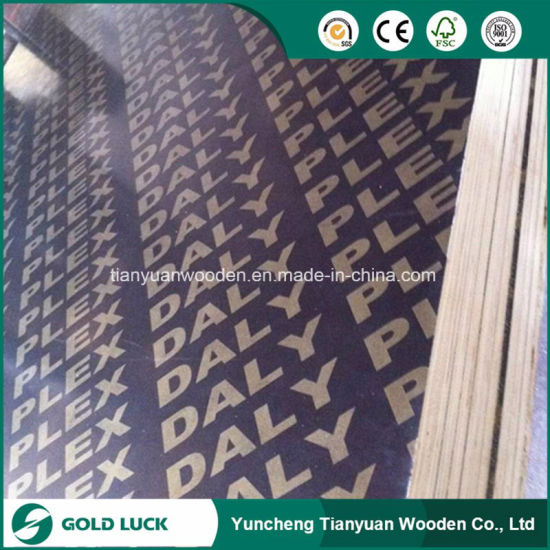 18mm Black Film Faced Plywood/Concrete Formwork pictures & photos