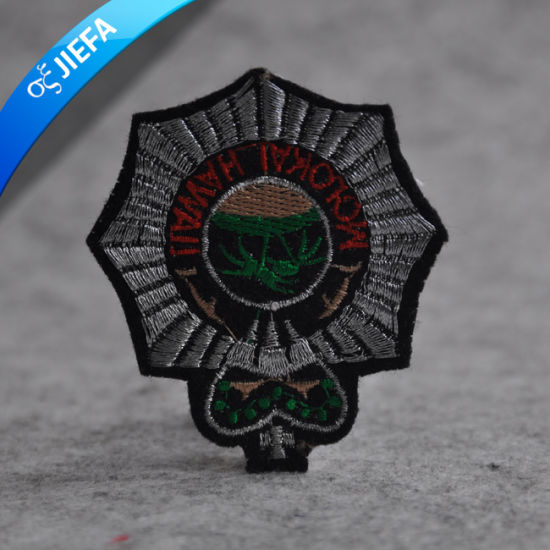 New Fashion Crown Embroidery Patch for Uniforms pictures & photos