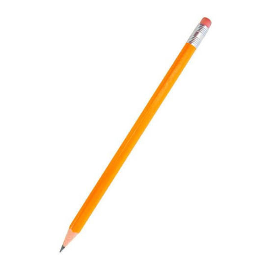 Promotional Hb Pencil with Eraser pictures & photos