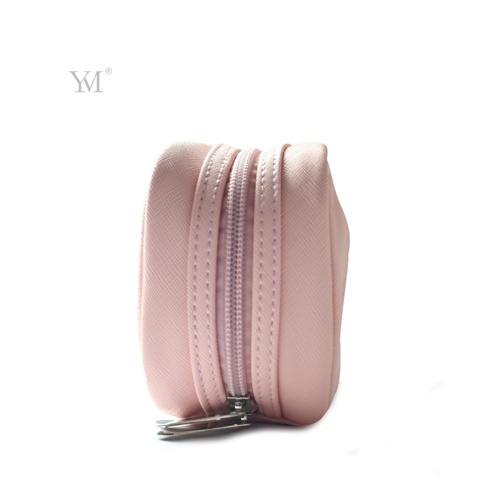 Latest Promotional Good Quality Custom Printing Leather Cosmetic Toiletry Bag pictures & photos