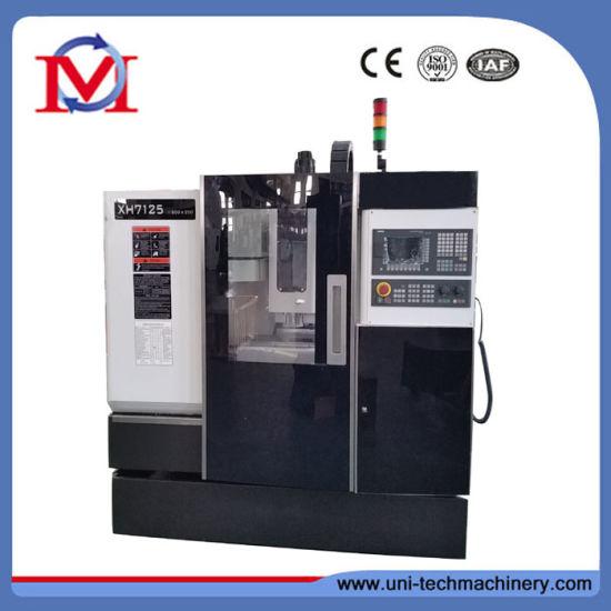 Xh7125 China Economic Type Small Vertical CNC Machine Center