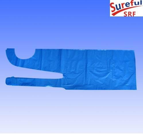 Disposable PE Apron Blue