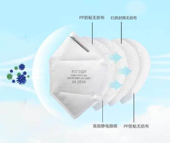 KN95 FFP2 4 Layer Disposable Face Mask (30-pack)