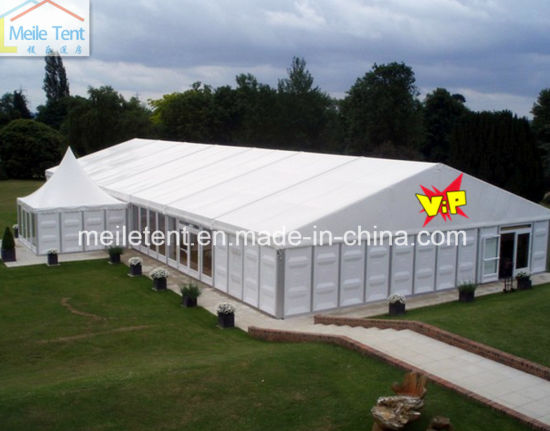 15X35m Outdoor White Wedding Tent Solid Wall Tent & China 15X35m Outdoor White Wedding Tent Solid Wall Tent - China ...