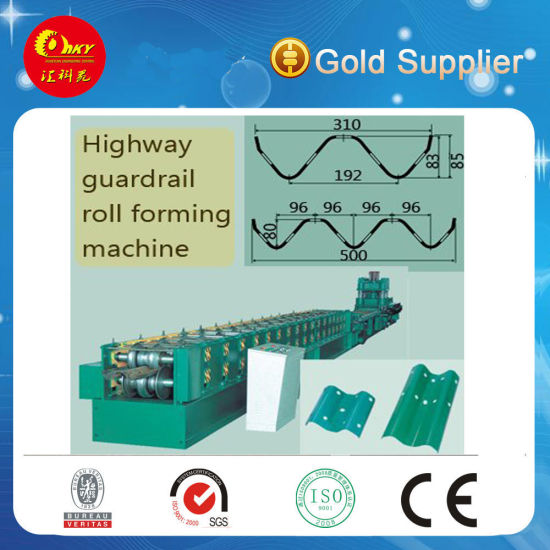 Botou Huikeyuan Good Quality Guard Rail Roll Forming Machinery pictures & photos