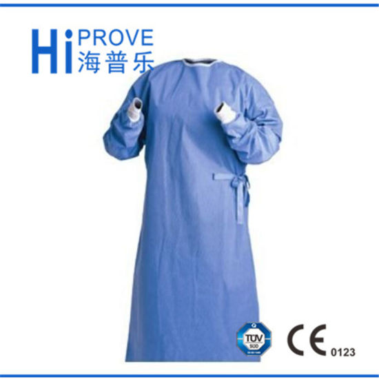 China Non Woven Sterile Disposable Medical Gowns - China Surgical ...