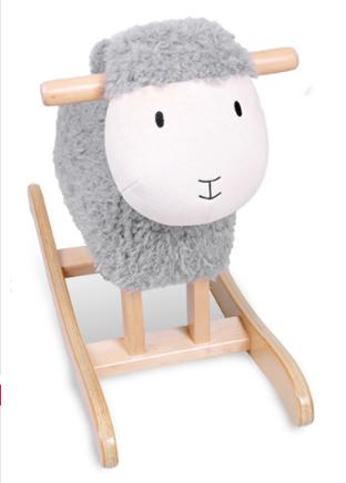 Factory Supply Rocking Horse Toy- Lamb Rocker