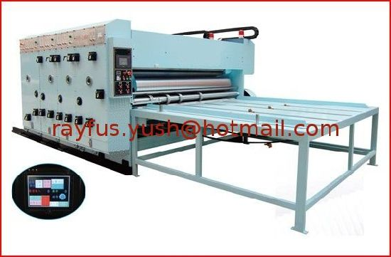 Full Automatic Flexo Printer Slotter Die-Cutter Stacker pictures & photos