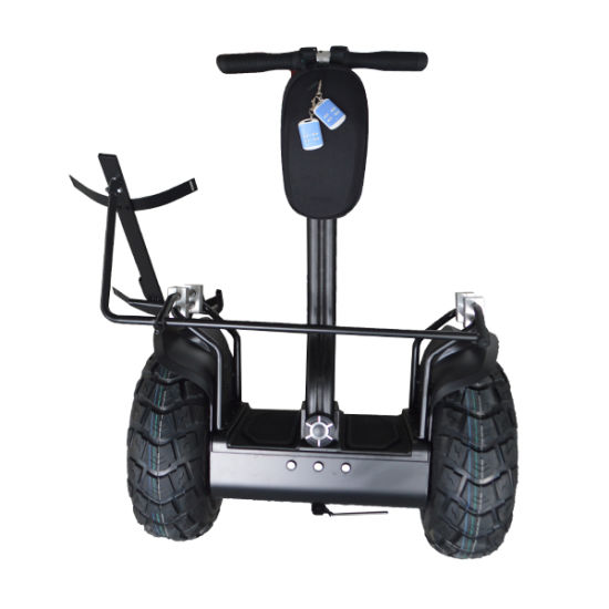 Modern High Quality Big Power 2000W All Terrain Electric Scooter Two Wheel Smart Balance Electric Golf Trolley for Golf Course Recreation pictures & photos