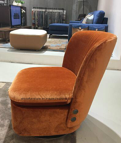 Upholstery Armrest Rotary Living Room Chair pictures & photos