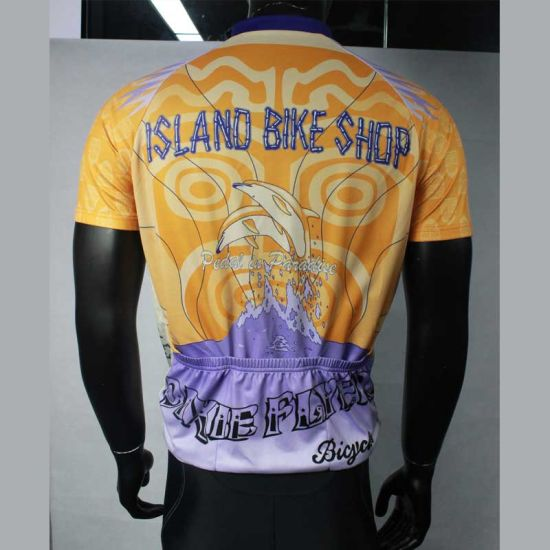 Customized Short Sleeve Quanlity Cycling Wear pictures & photos