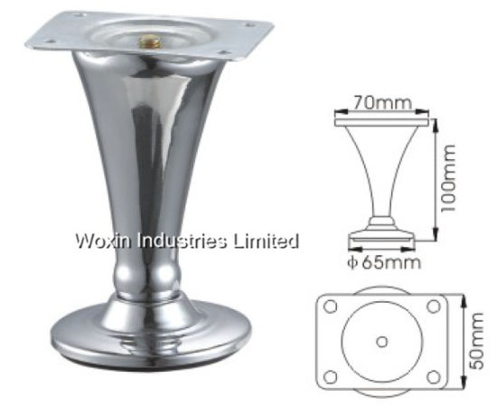 Furniture Sofa Legs Metal Polished Modern Accessories For Desk Chairs Sofas Cabinet
