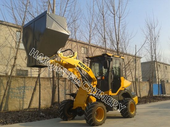China Multi-Function CE Mini Loader (HQ910J) with Hopper