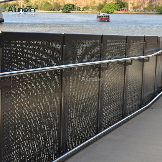 Low Cost Aluminum Fence Facade Panels for Garden