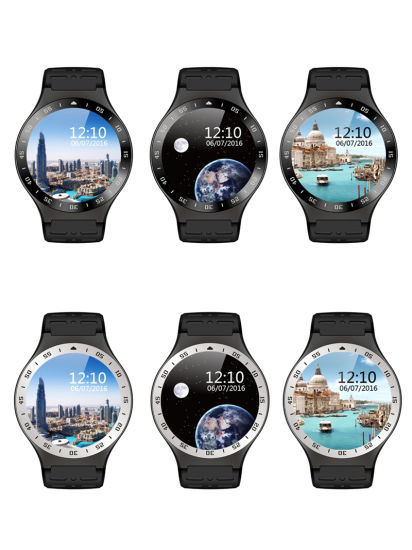 Android 5.1 Bluetooth4.0 GPS Google APP Heart Rate Fitness Tracker Smartwatch Phones pictures & photos