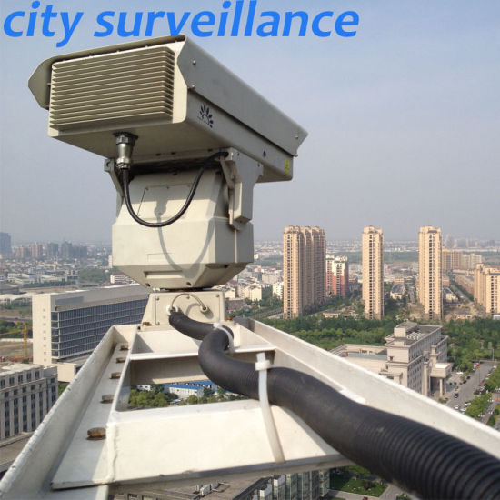 5km Nightvision Long Range PTZ Surveillance IR Laser Infrared Camera pictures & photos
