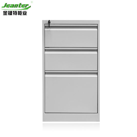 Office Equipment Thin Side Mobile File Cabinet on Wheel