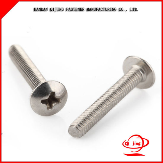 DIN7985 Pan Head Machine Screws with Cross Drive pictures & photos