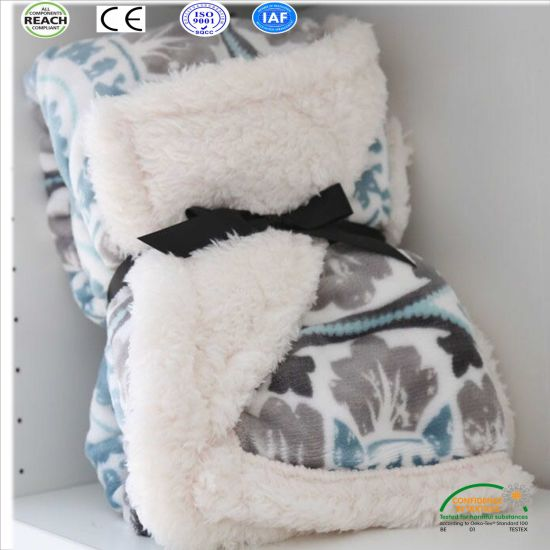 24103603a7fc Various Color Embossing Polyester Fleece Blanket for Baby Guangzhou Factory