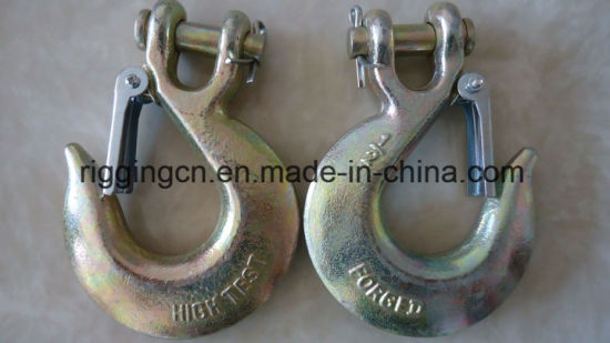 H331 Clevis Slip Hook with Latch for Liffting pictures & photos