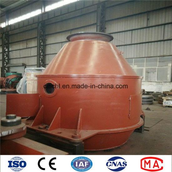 Low Moisture Content Vertical Coal Centrifugal Dewatering Machine