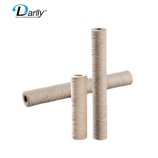 Darlly Cartridge Water Filter PP Yarn String Woud Filter Cartridge