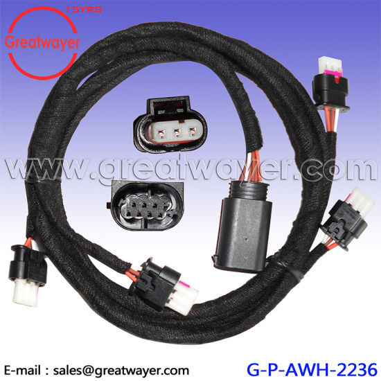 china gti radar wire harness 3 pin connector vw china radar gate rh greatwayer en made in china com VW Engine Wiring VW Beetle Wiring Harness