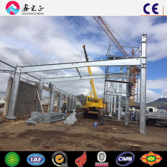 Pre-Engineer Steel Structure Shed Workshop (MV-07) pictures & photos