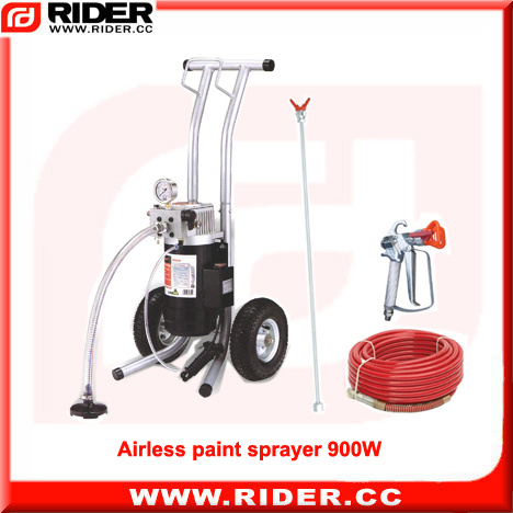China 900W 1 2HP Reconditioned Small Airless Paint Sprayers