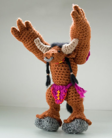 Wow Warcraft Plush Stuffed Hand Made Knit Doll Toy pictures & photos