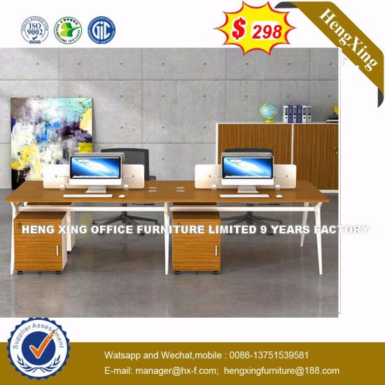 China Modern Office Furniture MFC Wooden MDF Office Table (HX-8NR0101) pictures & photos