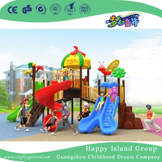 2018 New Outdoor Cartoon Roof Children Playground Equipment with Mouse (H17-B3) pictures & photos