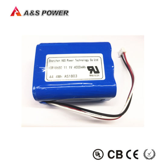 UL2054/Un38.3 18650 3s2p 11.1V 4000mAh Li-ion Battery for Bluetooth Speaker pictures & photos