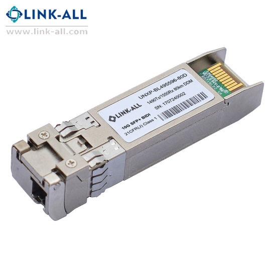 10gbps Bidi SFP+ Optical Transceiver Transmission 80km pictures & photos