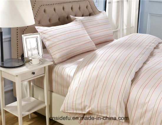 Bulk Queen Size Home Textiles Printed Bedding Set pictures & photos