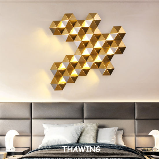 LED Modern Decorative Home Indoor Lighting, Agate Wall Light, Wall Lamp