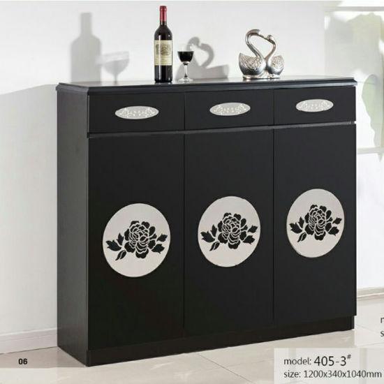 Modern Luxury Corner Wooden Cabinet Shoe Rack For Hallway Furniture