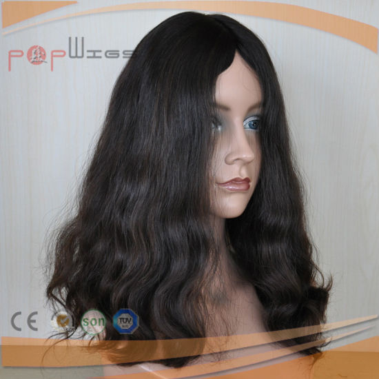 Brazilian Virgin Hair Natural Color Loose Wave Lace Wig (PPG-l-0026) pictures & photos