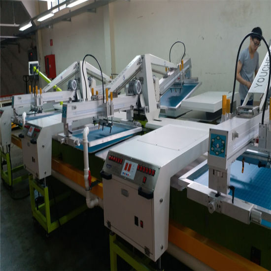 Oval Silk Screen Printing Machine for T-Shirt pictures & photos